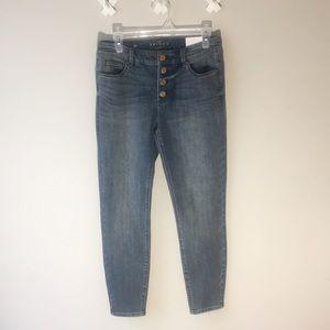 White House Black Market Skinny Ankle Jeans
